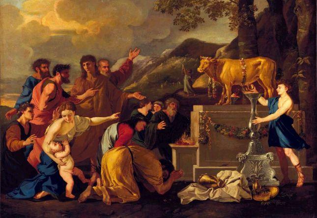 Adoration of the Golden Calf Andrea di Lione, artist